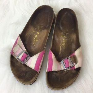 Papillio by Birkenstock Striped Sandals, 39